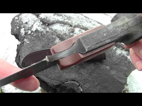 Нож из шатуна двигателя КаМАЗ