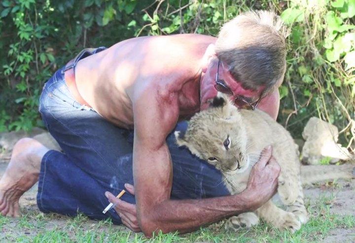11 лет удивительной дружбы человека и льва