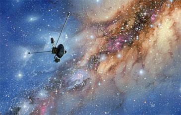 """Космический зонд """"Вояджер-1"""" оказался в ранее неизвестном регионе Солнечной системы."""