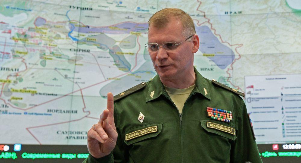 Конашенков рассказал, как США скрывали гибель мирных жителей в Сирии