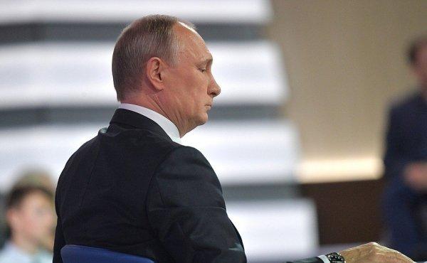 Топ цитат Путина об Украине на «Прямой линии-2017»