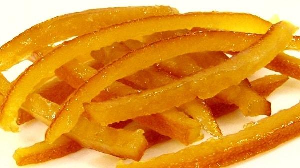 Как сделать домашние цукаты из апельсиновых корок?