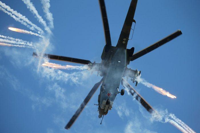 Российские вертолеты «Ночные охотники» без водки ракетами не стреляют