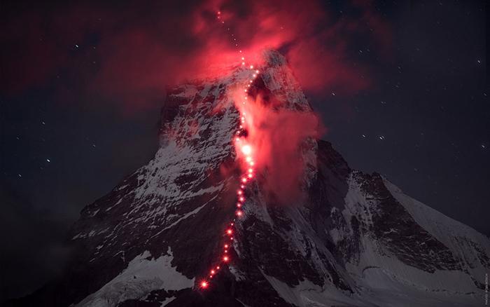 Эпическая фотосессия в Альпах: высота, риск и неимоверная красота природы