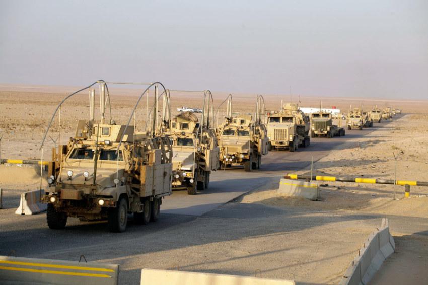 СМИ: Американская военная техника вошла на территорию Сирии и движется к Ракке