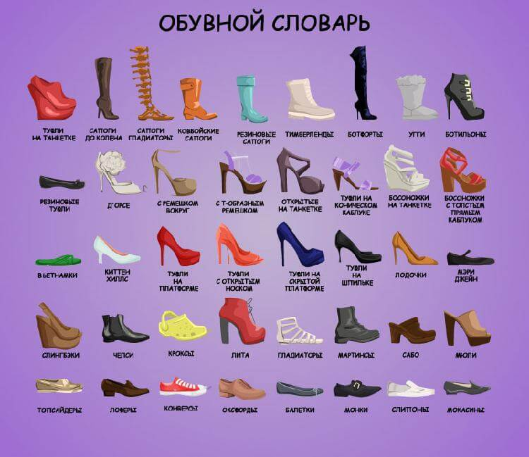 Обувной словарь, который вам…