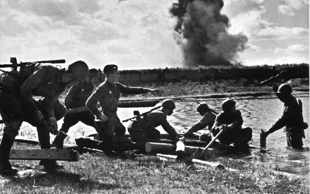 Смекалка  русских во время ВОВ, которая загнала немцев в ступор