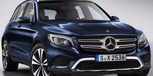 Mercedes-Benz ELC — новый электрический кроссовер от немецких производителей