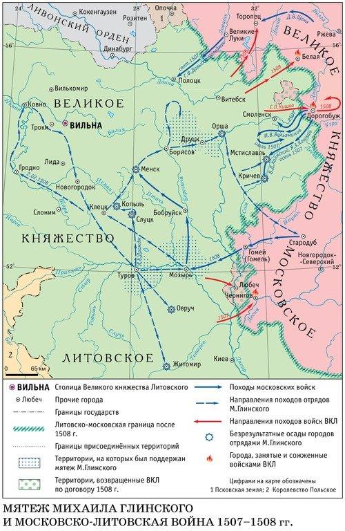 Малоизвестные войны русского государства: Русско-литовская война 1507-1508 гг.
