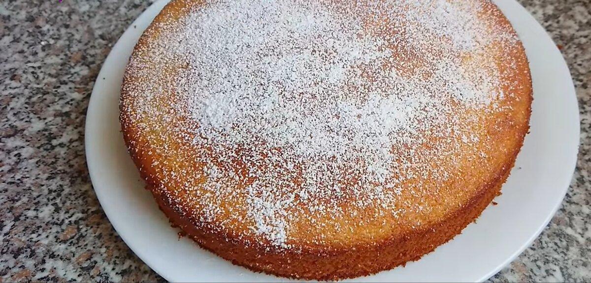 Готовый пирог по рецепту