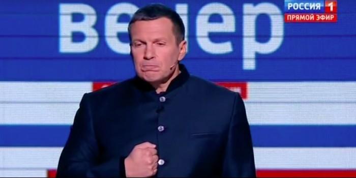 """""""Народ не любите?"""": Соловьев раскритиковал Чубайса в прямом эфире после спора в соцсетях"""