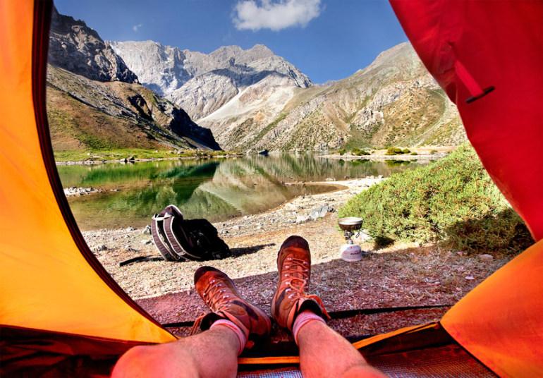 Красоты Таджикистана прямо и…