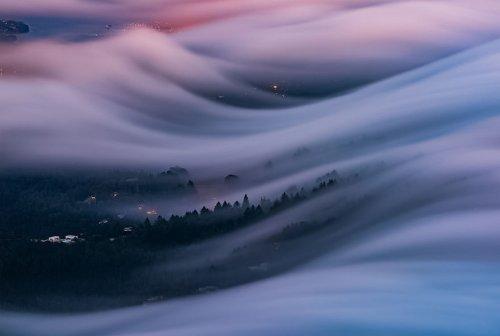 Туманы над Сан-Франциско в фотографиях Ника Стейнберга