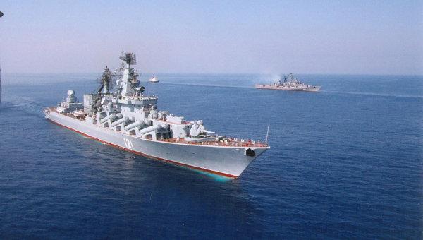 Черноморский флот РФ проводит совместные учения с ВМС Пакистана