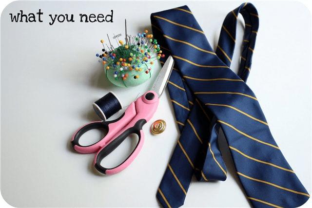 из галстука