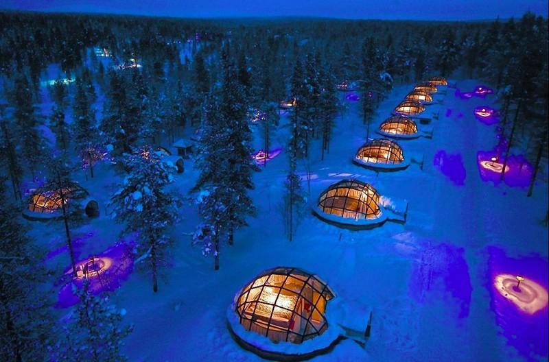Поразительные ледовые отели мира