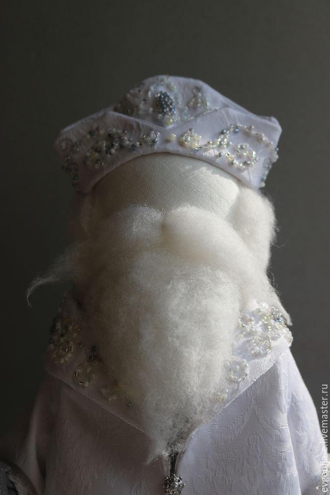 Создаем Деда Мороза и Снегурочку. Часть 1