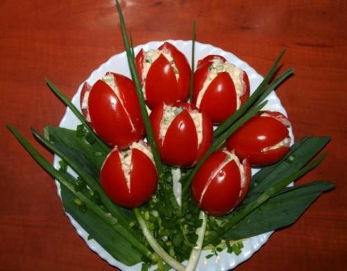 красивое оформление салатов и их рецепты