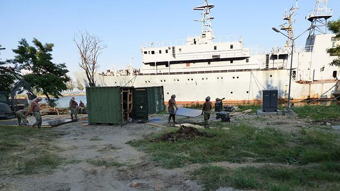 Через черный ход: зачем на самом деле США строят центр ВМС на Украине