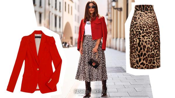 Самый модный дуэт осени: 14 идей, как носить юбку и пиджак