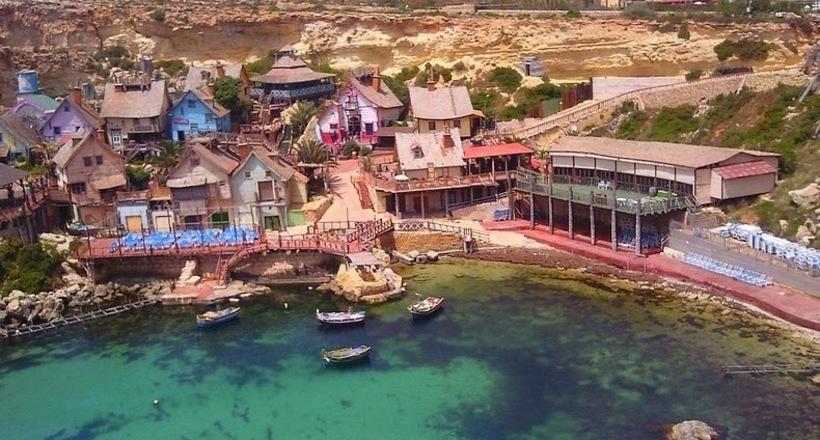 Попай — маленькая деревушка на Мальте, которой на самом деле не существует