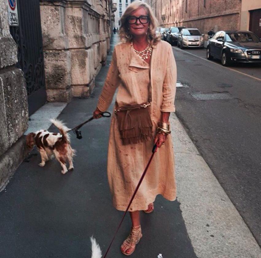 Стиль вне возраста —  чему стоит поучиться у 66-летней Роселлы Джардини