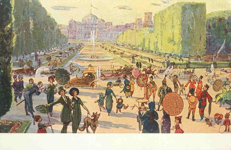 Петровский парк история, открытки, факты