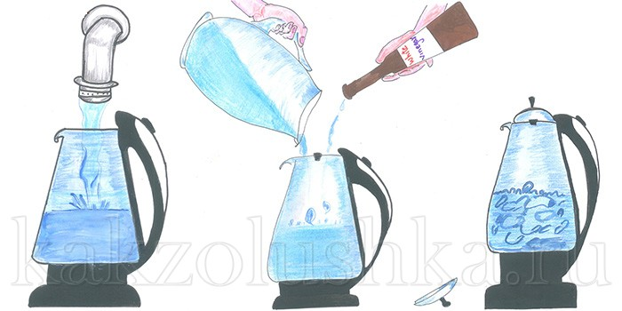 Как избавиться от запаха чайника