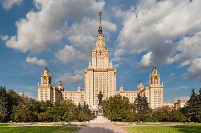 МГУ вошел в пятерку лучших университетов стран БРИКС по версии QS
