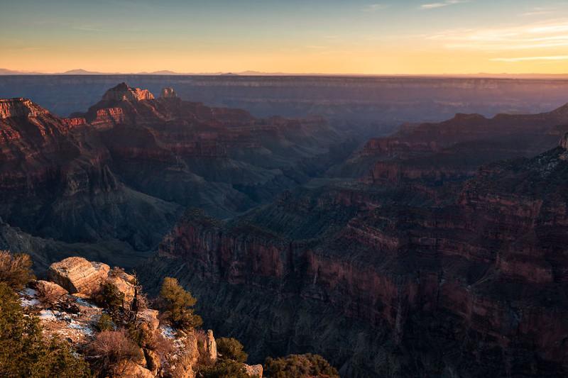 Гранд-Каньон, Аризона  Северная Америка, путешествие, фотография