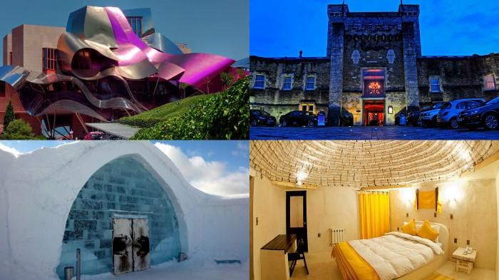 Самые необычные мировые отели