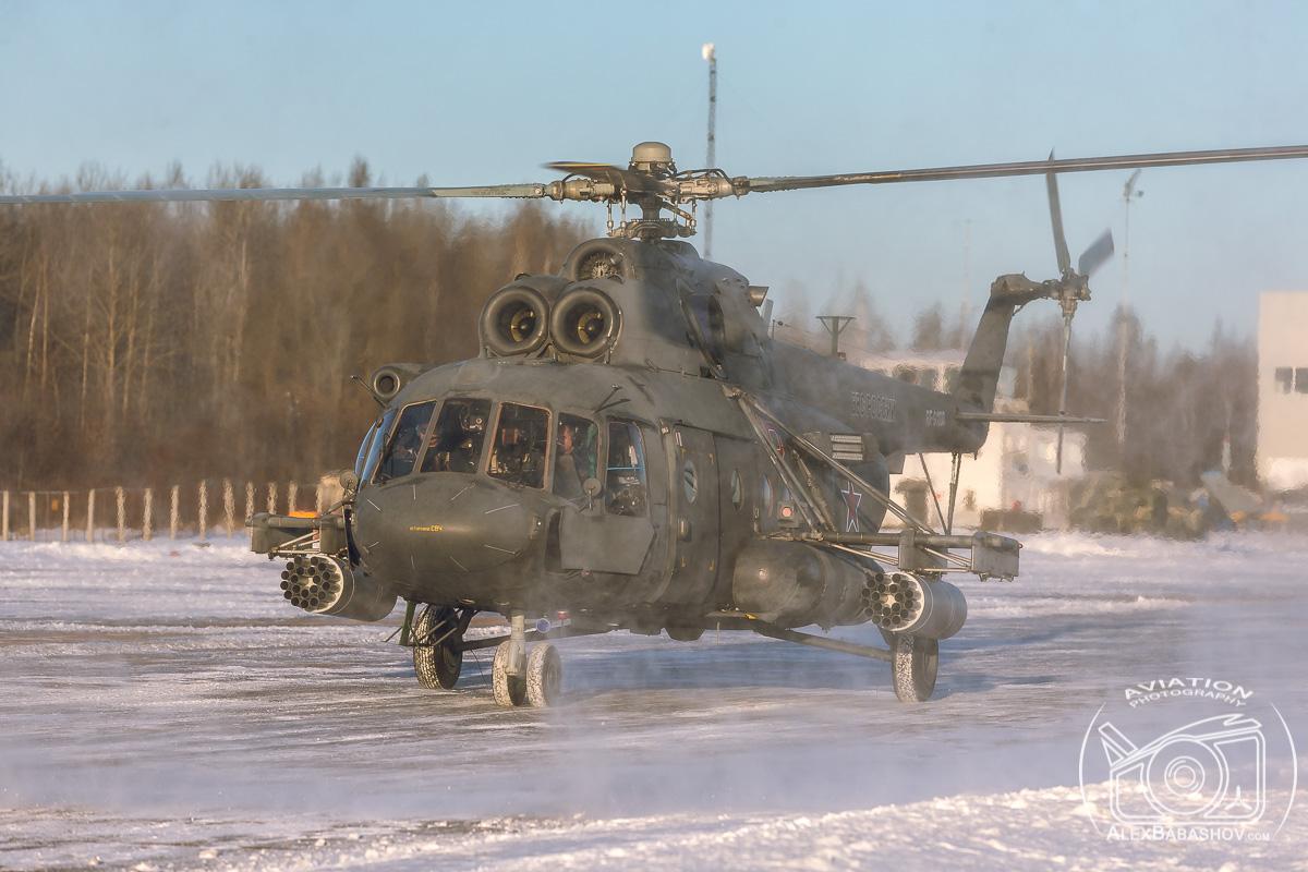 Командирские полеты армейской авиации в Пушкине