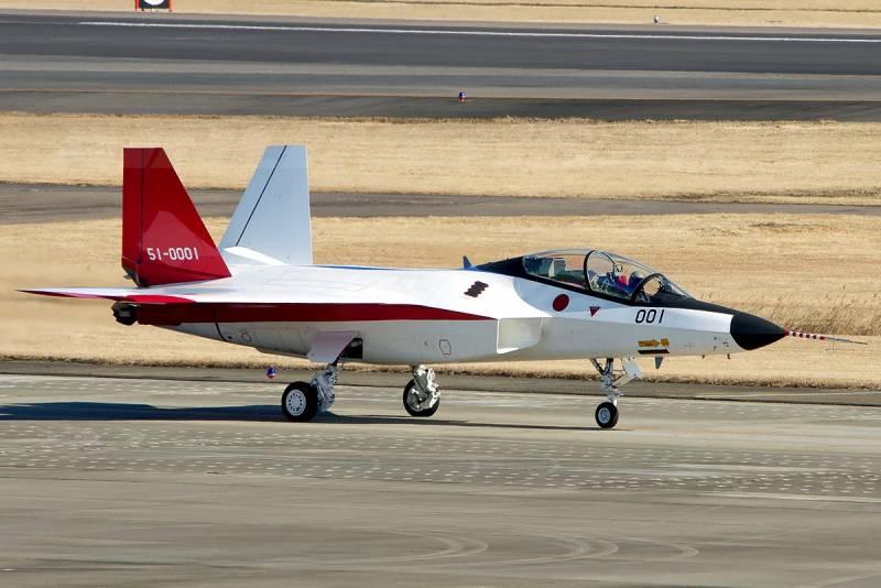 Японское пятое поколение. Mitsubishi X-2 Shinshin
