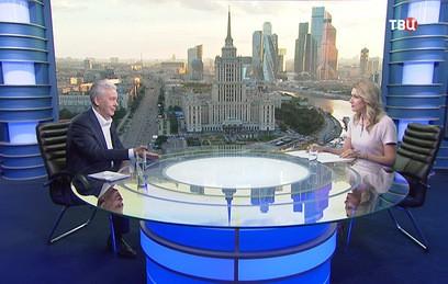 Собянин рассказал о решении транспортных проблем Москвы