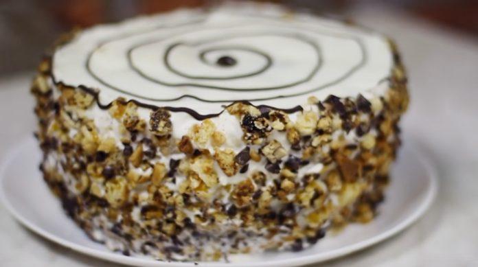 Вкусный торт «Трухлявый пень»