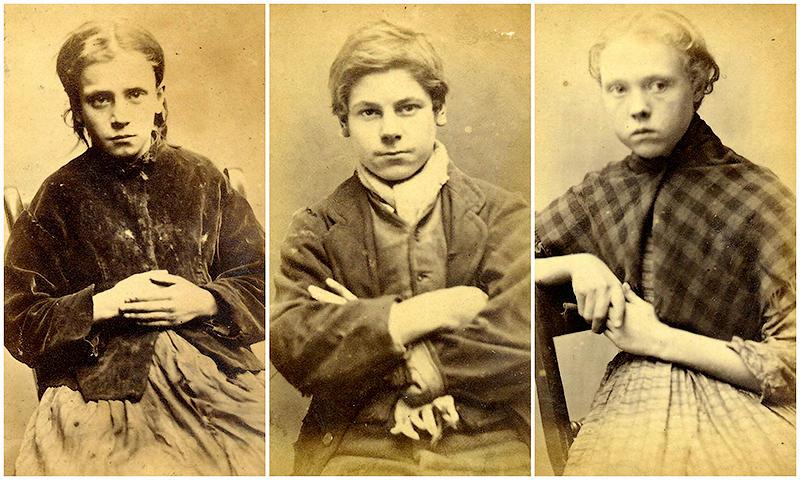 Лица британской преступности XIX века