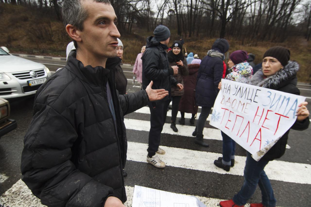 В некоторых городах в/на Украины уже вводят ЧП из-за отсутствия отопления