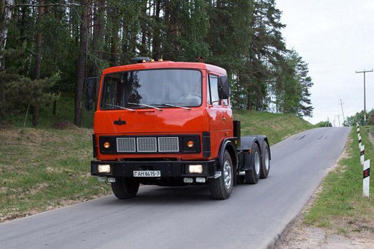СуперМАЗ - главный грузовик-международник Советского Союза