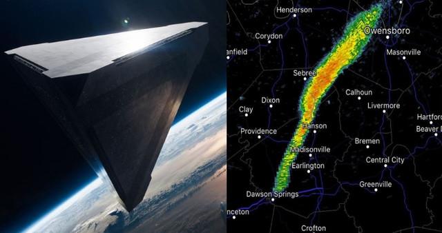 Огромный НЛО перепугал Нацио…