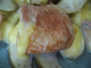 Запеченные куриные рулетики с сыром