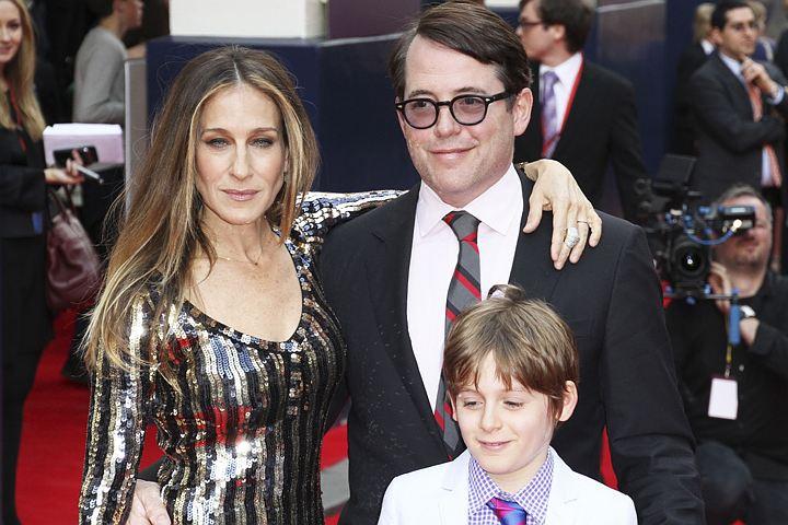 Сара Джессика Паркер одевает сына в сэконд-хэнде