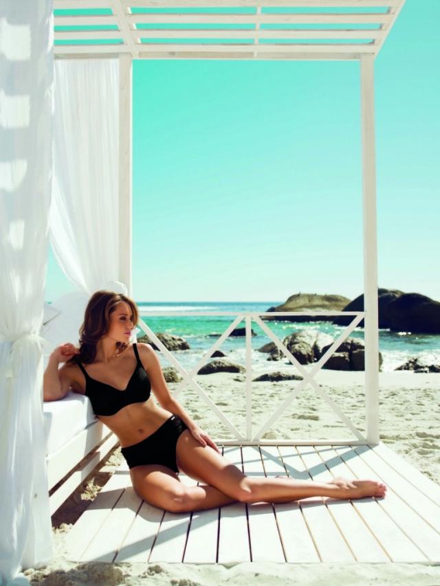 Джейми Ли Олдос  в пляжной фотосессии для купальников Fantasie
