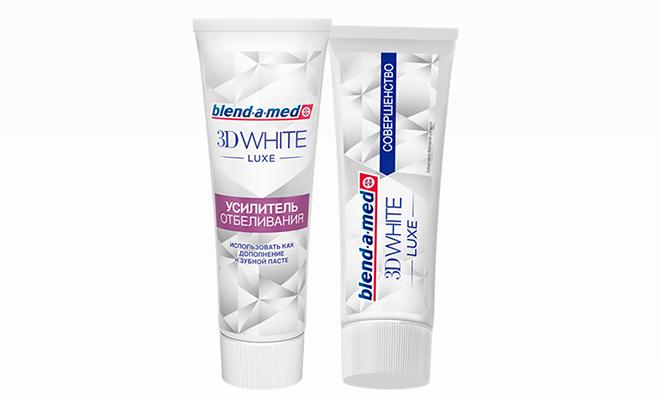Blend-a-Med 3D White Luxe: белоснежная улыбка в пару шагов