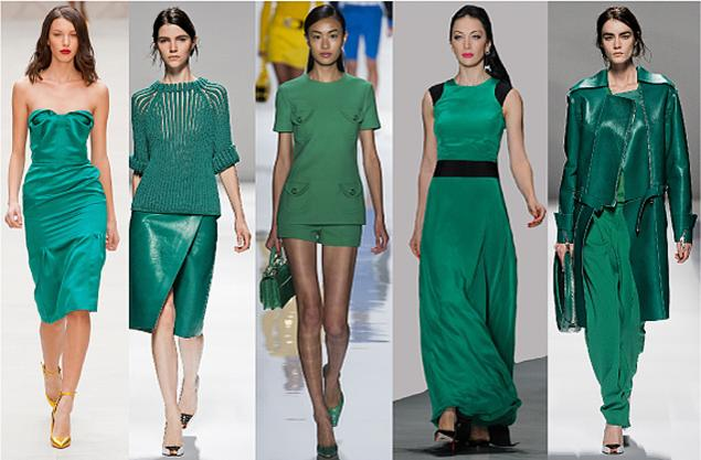 Одежда бледно зелёного цвета