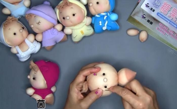 Куклы своими руками быстро сделать 11