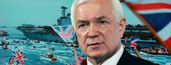 Украинцы в 2014 ждали авианосец США. Теперь ждут британский крейсер