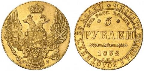 Памятные монеты Российской империи