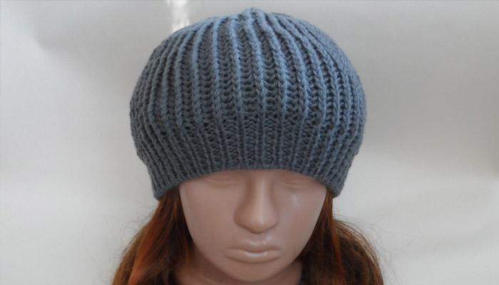 Как вязать шапку без резинки