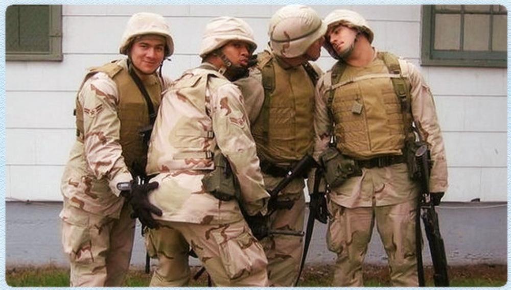 Геи в армии видео