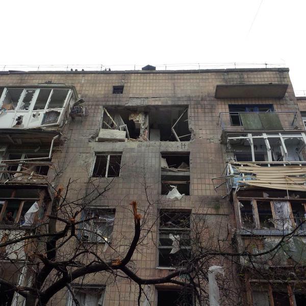 Донецк – Симфония ночных обстрелов. Продолжение…
